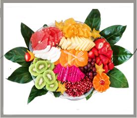 משלוח סלסלת פירות סיישל