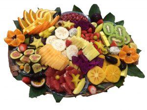 סלסלת פירות אורגנית