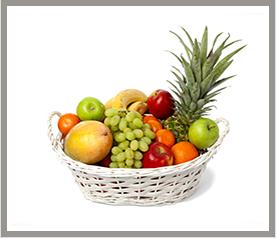 סלסלת פירות קטנה