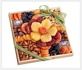 משלוח מגש פירות יבשים בגודל Medium