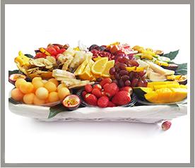 סלסלת פירות גדולה ומפנקת