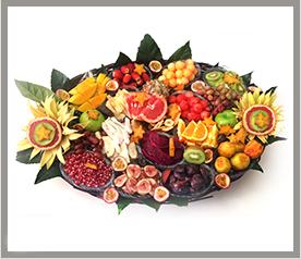 סלסלת פירות ענקית