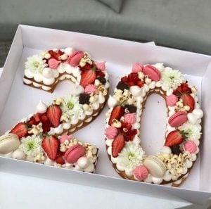 עוגת מספרים מפנקת
